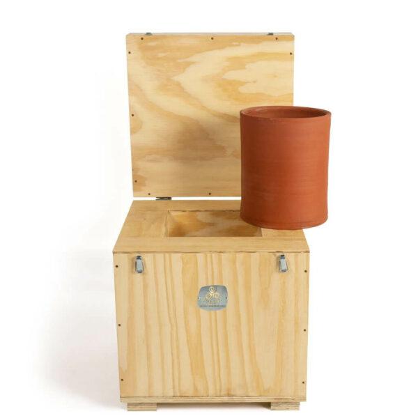 Caja de conservación de 10 kilos de preparados biodinámicos