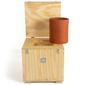 Caja de conservación de 12 kilos de preparados biodinámicos