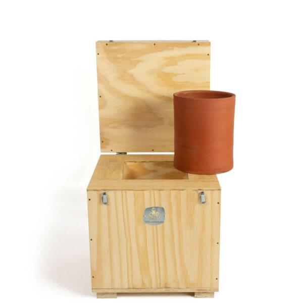 Caja de conservación de 8 kilos de preparados biodinámicos