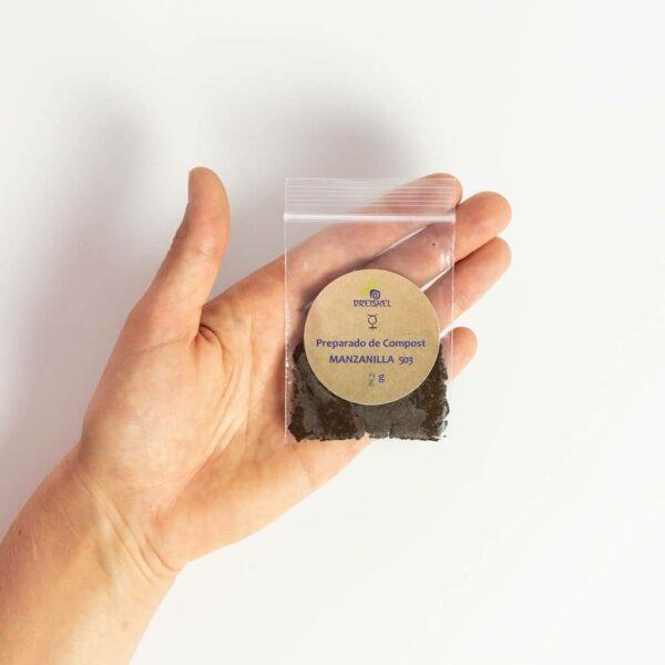 Envase del preparado biodinámico de Manzanilla 503