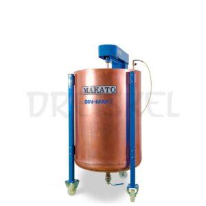 Máquina de dinamización Makato Din mak 150 litros cobre