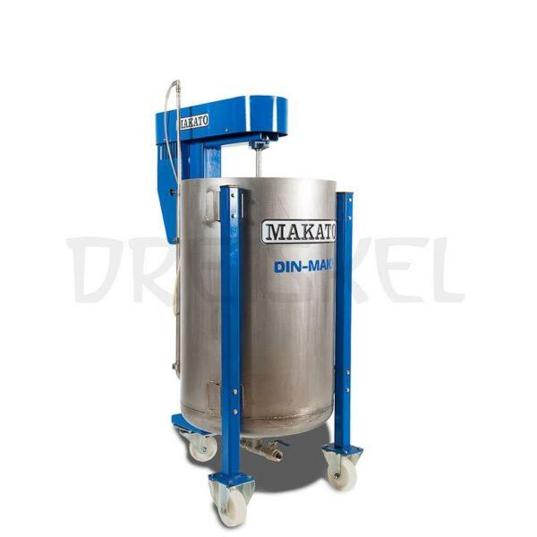 Máquina de dinamización Makato Din mak 150 litros inox