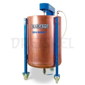Máquina de dinamización Makato Din mak 300 litros cobre