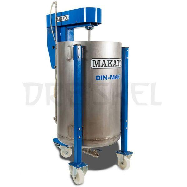 Máquina de dinamización Makato Din mak 300 litros inox