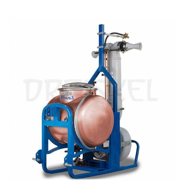 Máquina de dinamización Makato Nerthus 300 litros cobre