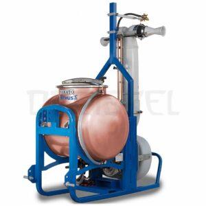 Máquina de dinamización Makato Nerthus 500 litros cobre