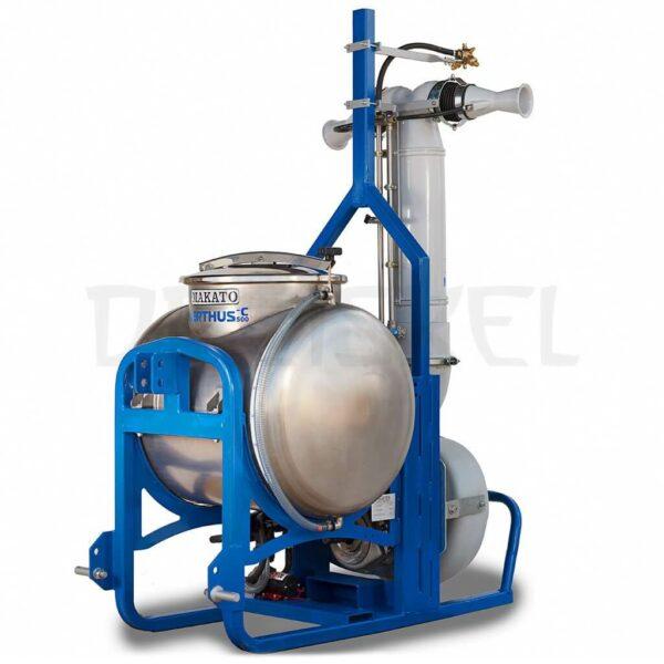 Máquina de dinamización Makato Nerthus 500 litros inox