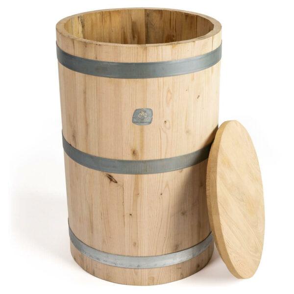 Tonel de madera para la dinamización manual de 300 litros