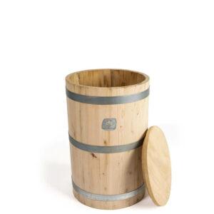 Tonel de madera para la dinamización manual de 75 litros
