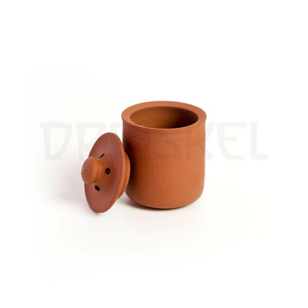 Vasija de conservación para preparados pequeña con tapa