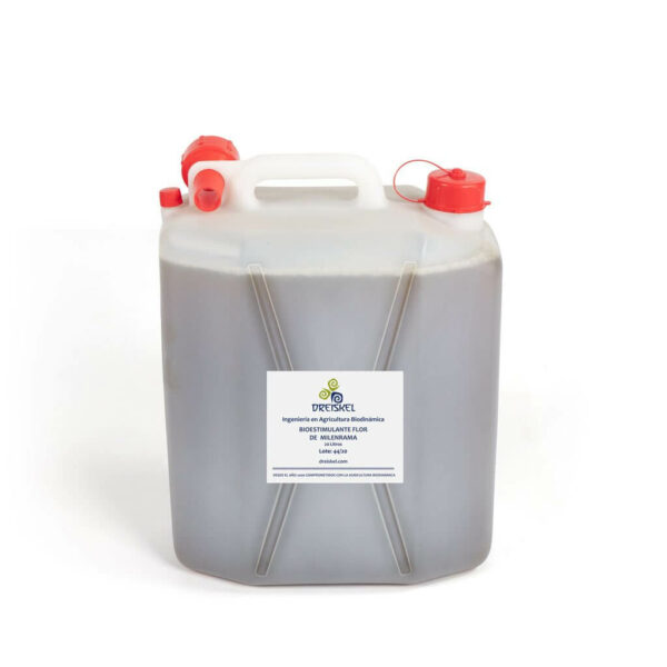 Bioestimulante de flor de milenrama de 20 litros